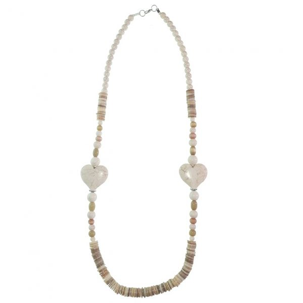 Stone beads necklace